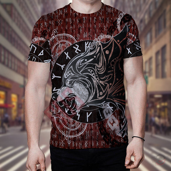 Original Designs : Viking Fenrir T-Shirt