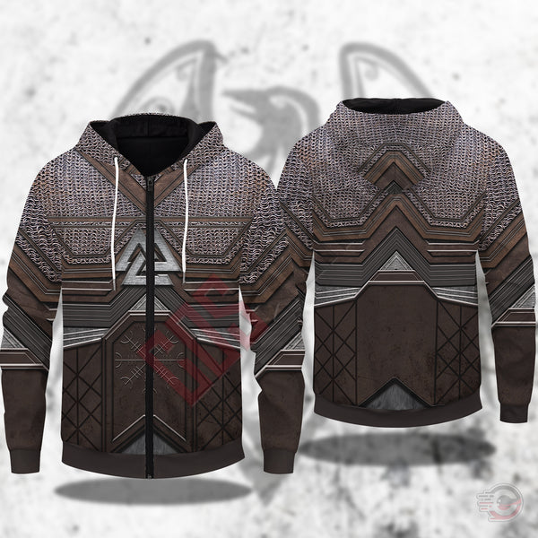 Original Designs : Norse Mythology Zipped Hoodie
