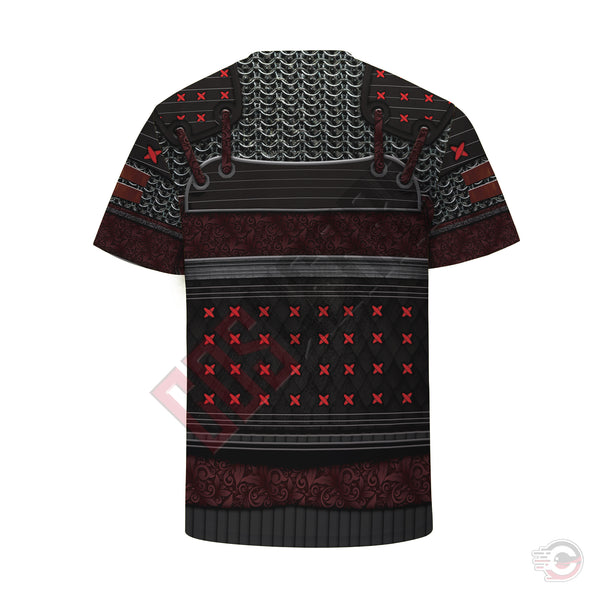 Original Designs : Samurai Armor T-Shirt