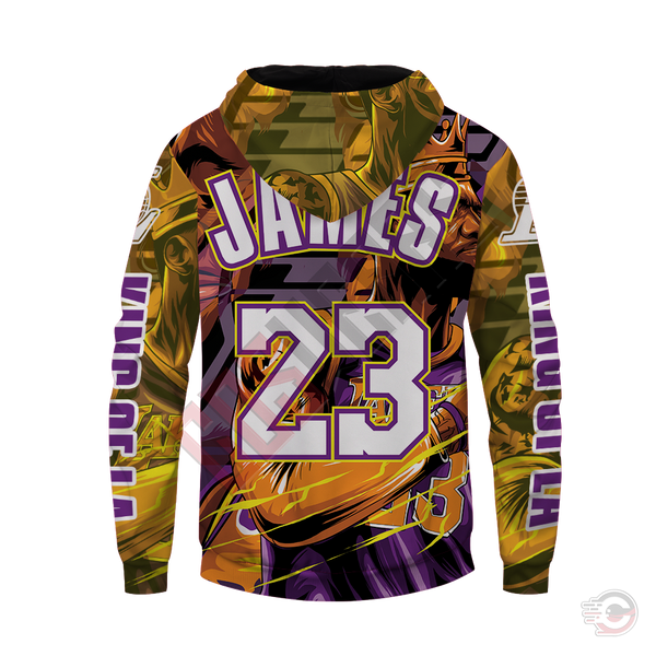 Original Designs : LeBron James Inspired Zipped Hoodie