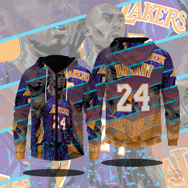 Original Designs : Kobe Bryant Inspired Zipped Hoodie