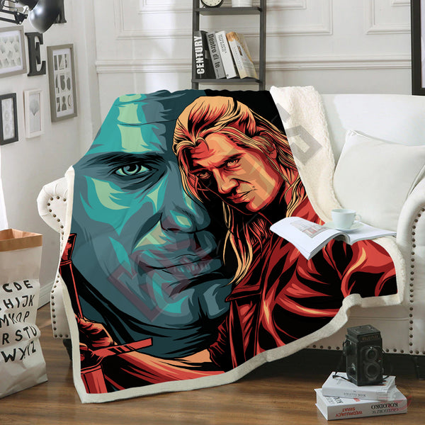 Original Designs : The Witcher Inspired Blanket