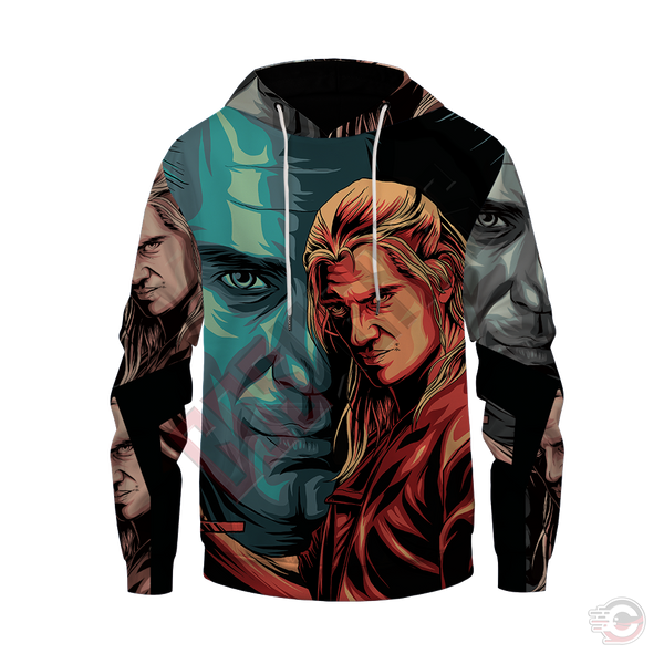 Original Designs : The Witcher Inspired Pullover Hoodie