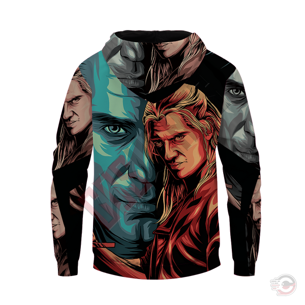 Original Designs : The Witcher Inspired Zipped Hoodie