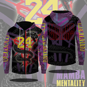 Original Designs : MAMBA Mentality Zipped Hoodie