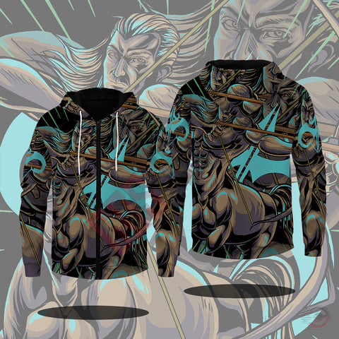 Original Designs : Sagittarius Zipped Hoodie