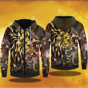 Original Designs : Leo Zipped Hoodie