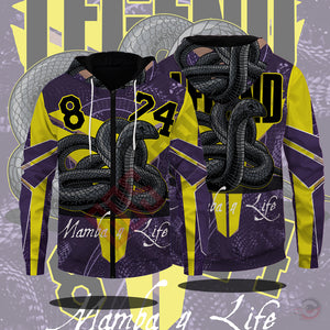Original Designs : Kobe Inspired Zipped Hoodie