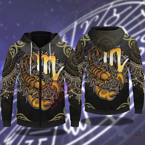 Original Designs : Scorpio Zipped Hoodie