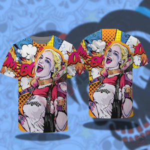 Original Design : Harley Quinn Inspired T-Shirt