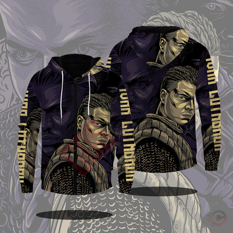 Original Design : Ivar Lothbrok Zipped Hoodie