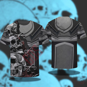 Original Design : Skull 3D Outfit T-Shirt