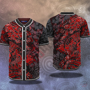 Original Design : Dragon Tattoo Jersey Shirt