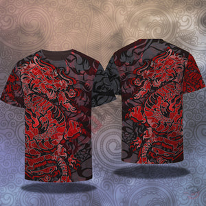 Original Design : Dragon Tattoo T-Shirt