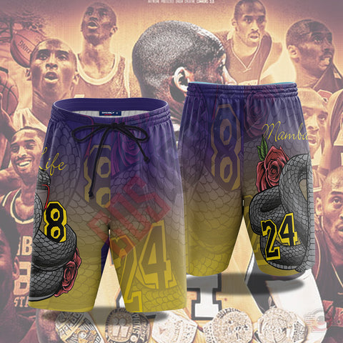 Original Design : Mamba4Life Beach Shorts
