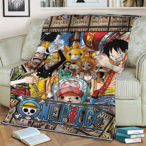 One Piece : The Pirate Crew Blanket