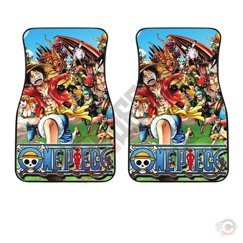 One Piece : The Pirate Crew Car Floor Mat