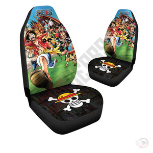 One Piece : The Pirate Crew Car Seat Cover