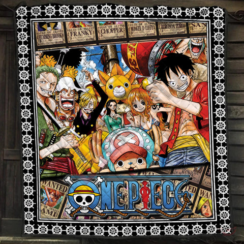One Piece : The Pirate Crew Quilt