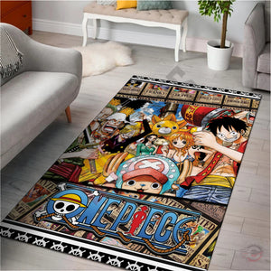 One Piece : The Pirate Crew Rug