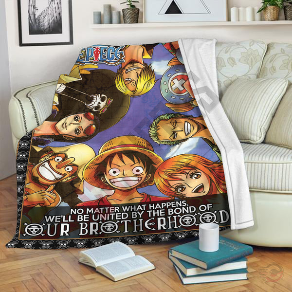 One Piece : Brothers In Arms Blanket