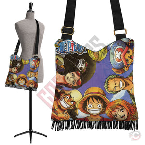 One Piece : Brothers In Arms Boho Bag