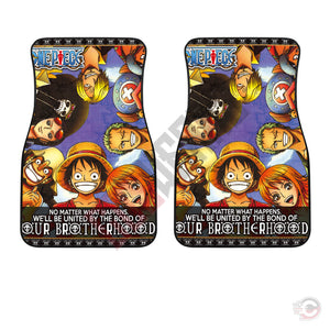 One Piece : Brothers In Arms Car Floor Mat