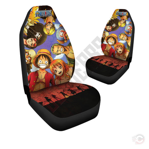 One Piece : Brothers In Arms Car Seat Cover