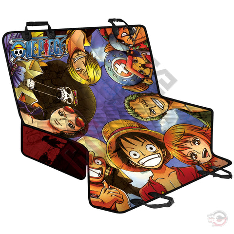 One Piece : Brothers In Arms Pet Seat Cover