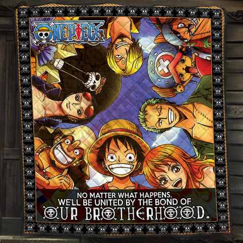 One Piece : Brothers In Arms Quilt