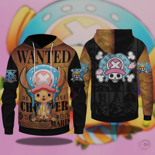 One Piece : Chopper Pullover Hoodie