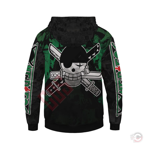 One Piece : Zoro Pullover Hoodie