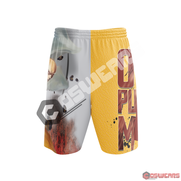 One Punch Man: One Punch Inspired Beach Shorts