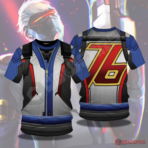 Overwatch : Soldier 76 Inspired T-Shirt
