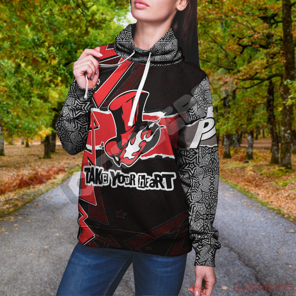 Persona 5 - Take Your Heart Pullover Hoodie