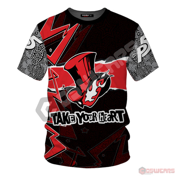 Persona 5 - Take Your Heart T-Shirt