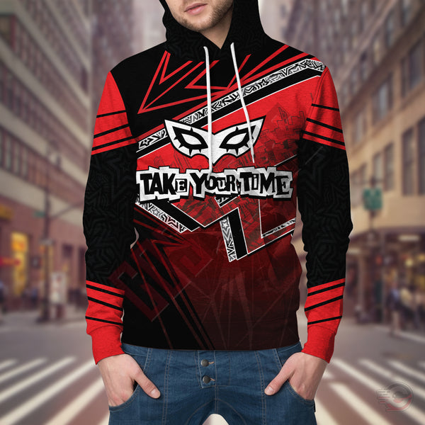 Persona 5 : Take Your Time Pullover Hoodie
