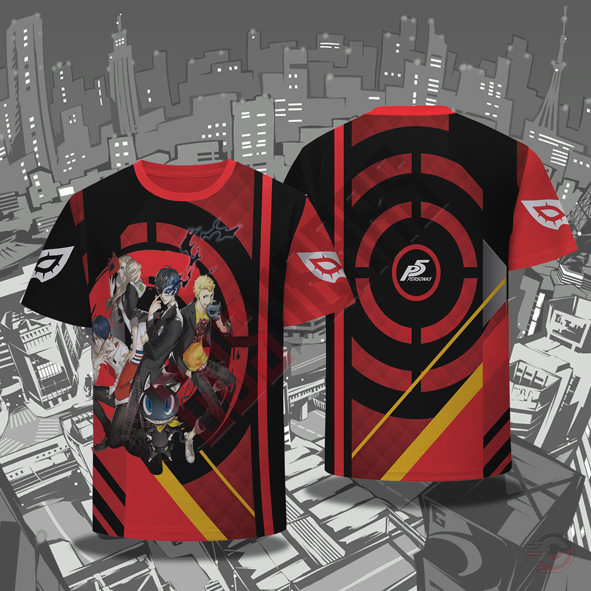 Persona 5 : Manga Council T-Shirt
