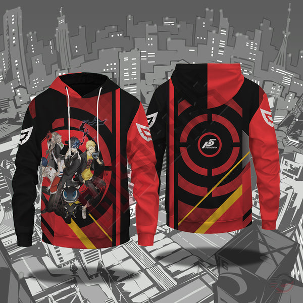 Persona 5 : Manga Council Pullover Hoodie