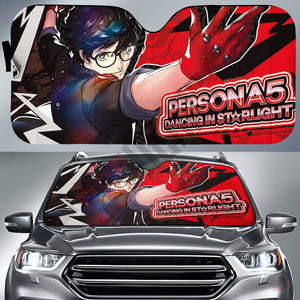 Persona 5 : Dancing In Starlight Car Sun Shade
