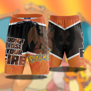 Pokemon : Charizard Beach Shorts