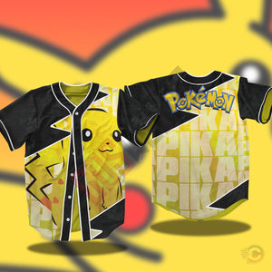 Pokemon : Pikachu Jersey Shirt