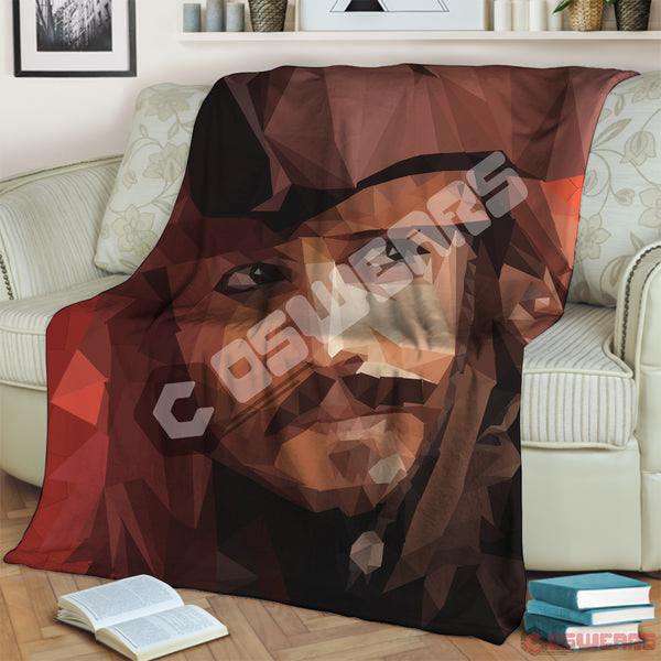 Pirates Of The Caribbean Jack Sparrow Blanket