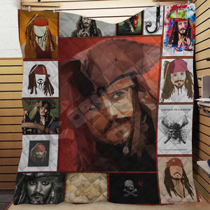 Pirates Of The Caribbean Jack Sparrow Quilt
