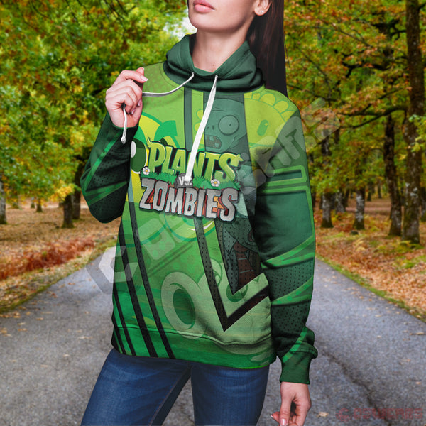Plants VS Zombies Inspired Pullover Hoodie