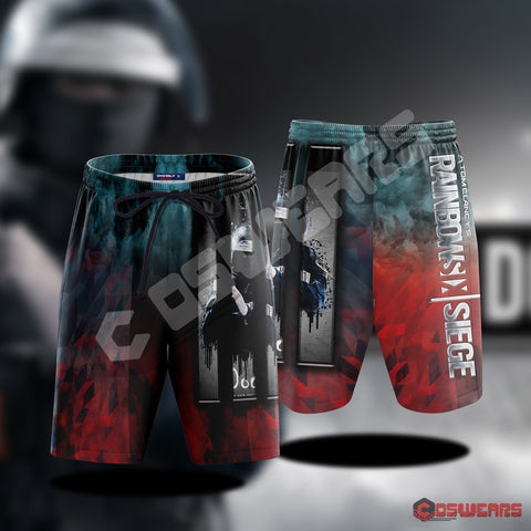Rainbow 6 : Doc Inspired Beach Shorts