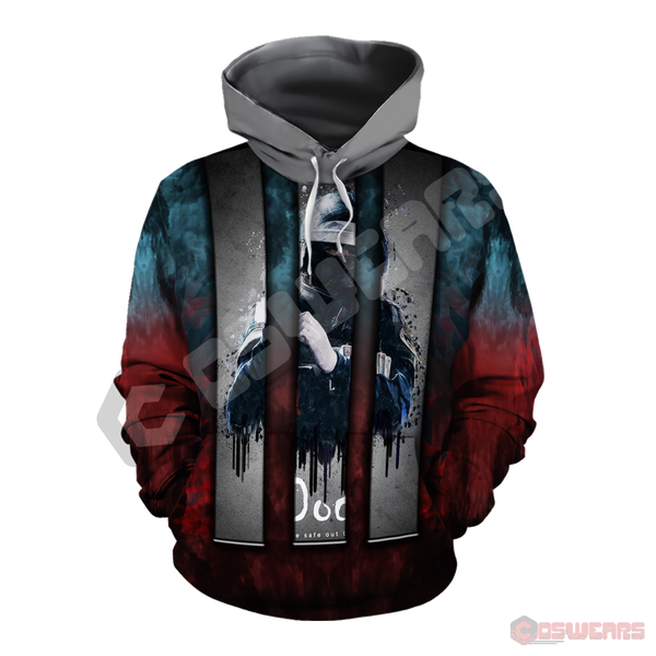 Rainbow 6 : Doc Inspired Pullover Hoodie