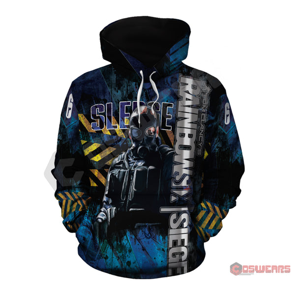 Rainbow 6 : Sledge Inspired Pullover Hoodie