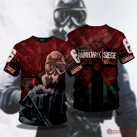 Rainbow 6 : Mute Inspired T-Shirt