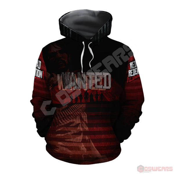 Red Dead Redemption : Wanted Pullover Hoodie